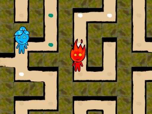 Jogo Fireboy and Watergirl Maze