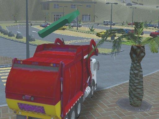 Jogo Island Clean Truck Garbage Sim