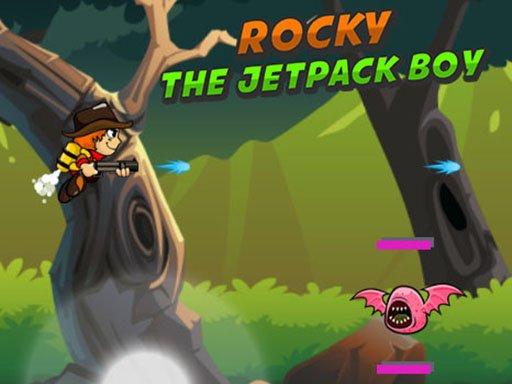 Jogo Rocky The Jetpack Boy