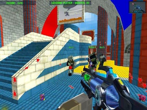 Jogo Blocky Gun Paintball 3