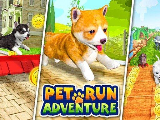 Jogo Pet Run Adventure Puppy Run