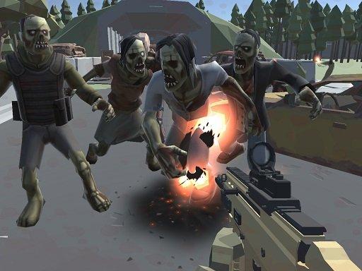 Jogo Poligon War Zombie Apocalypse