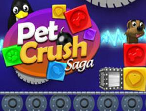 Jogo Pet Crush Saga