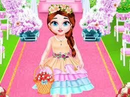 Jogo Baby Taylor Wedding Flower Girl