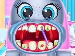 Jogo Baby Hippo Dental Care