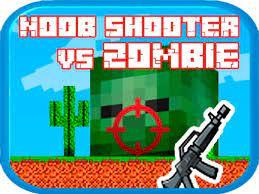 Jogo Noob shooter vs Zombie
