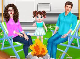 Jogo Baby Taylor Family Camping
