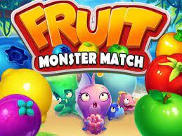 Jogo Fruit Monster Match