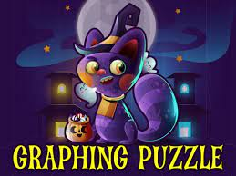 Jogo Graphing Puzzle Halloween