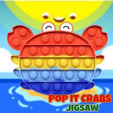 Jogo Pop It Crabs Jigsaw
