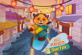 Jogo Red Panda Surfer
