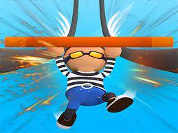Jogo Roof Run Rails Man – Railing Challenge Game Online