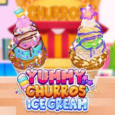 Jogo Yummy Churros Ice Cream