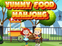 Jogo Yummy Food Mahjong